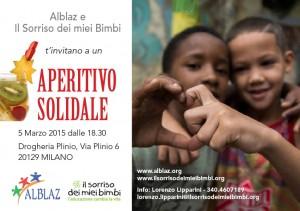 Aperitivo Solidale 5.3.15